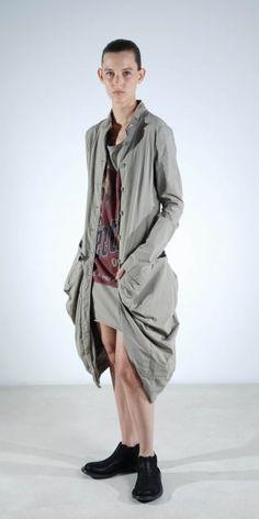 Rundholz Mainline Desert Cotton/Linen Coat
