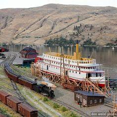 CP Rail Manitoba & Minnesota Subdivision: Great Canadian Model Railroad (Diorama Division): Okanagan Landing