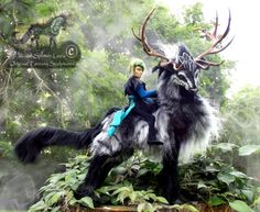 --SOLD--Hand+Made+Poseable+Thunder+Stag!+by+Wood-Splitter-Lee.deviantart.com+on+@deviantART
