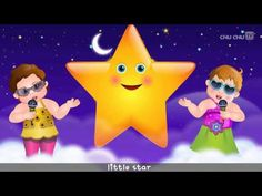 Twinkle Twinkle Little Star Rhyme with Lyrics - English Nursery Rhymes Songs for Children