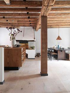 Essbereich Mit Offener Küche. #Esszimmer #offen #Küche #Grundriss #Holz #