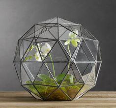 Geodesic Terrarium 3D Sphere