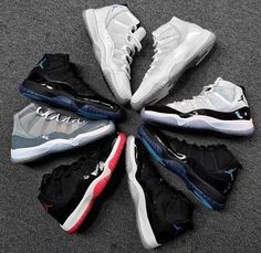 Jordan Shoes #Jordans #Shoes SneakerHeadStore.com I need to know where to get the gamma 11s & the bred 11s, anyone know???
