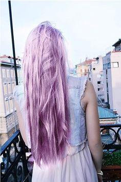 cabelo lilás
