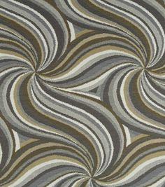 Robert Allen Upholstery Fabric-Samara Swirl Amber
