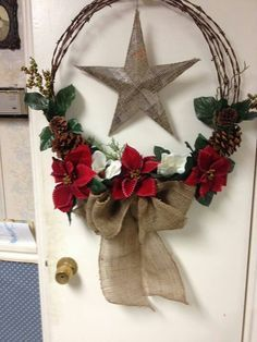 Western Christmas Wreaths