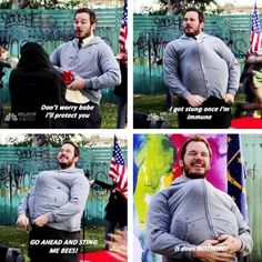 Andy Dwyer being the greatest  Parks and Recreation