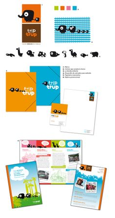 triptrup   agencia de viajes por Ruiz Stinga, a través de Behance