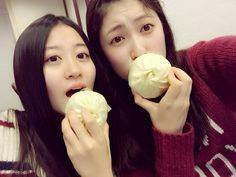 """Kei Jonishi x Akari Yoshida """"大阪の豚まんは最高やで(^.^)やでやで"""""""