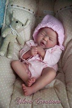 Reborn baby doll kit Chiara by Eva Brilli in Dolls & Bears, Dolls, Reborn Live Baby Dolls, Life Like Baby Dolls, Life Like Babies, Real Baby Dolls, Realistic Baby Dolls, Baby Born, Reborn Dolls, Reborn Babies, Stuffed Animals