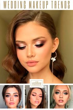 Wedding Makeup 2020 Trends ❤ We have collected wedding makeup ideas based on fashion week trends. Look through our gallery of wedding makeup 2020 to be in trend! #weddings #bridalmakeup #WeddingMakeupTrends #bride