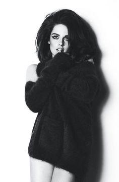 Kristen in W magazine.