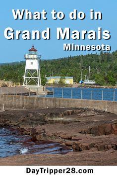 A fun trip to Grand Marais is the perfect romantic getaway on the North Shore of MN. Minnestoa | Lake Superior | Getaway