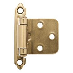 Brainerd 24-Pack 2-3//4-in x 2-1//8-in Nickel Plated Concealed Soft-Closing Hinges