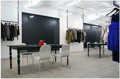 Carrier and Company | Portfolio: Jason Wu Office-hanging racks