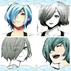 So I made a Touka Edit for TG:Re :') Touka is beautiful