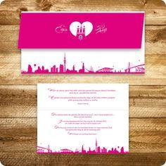 Hochzeitskarten Hamburg Einladungskarten Hochzeit | Hochzeit Corinna |  Pinterest | Hochzeitskarten, Einladungskarten Und Kirchenheft