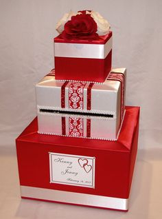 Valentine's Day Wedding Card Box/Card Holder