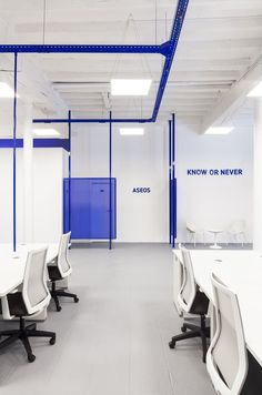 wanna one knowhere coworking space alicante designboom Corporate Office Design, Corporate Interiors, Office Interior Design, Office Interiors, Cool Office Space, Office Workspace, Office Walls, Home Office, Office Decor