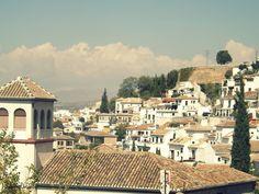 Granada, España. My Erasmus year. October 2014