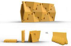 QuaDror, Dror Benshetrit, building block, structural joint, flat-packing, shelter, geometrical truss