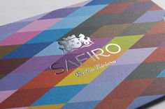 Safiro, Montenegro. We created branding and printed marketing materials for this 5-star hotel and set of residences.