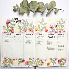🌿🌷 This week was like this 🌷🌿 It's been a little while since I posted on Instagram. I felt less creative these days. All I need is spring and summer I think! I'm getting so tired of the cold!!! Hope you all doing great ! Big 💋 . . . . #bulletjournal #bulletjournalfr #bulletjournaling #bulletjournaljunkies #bujo #bujofr #bujofrance #bujoinspire #bujobeauty #leuchtturm #leuchtturm1917 #watercolor #aquarelle #march2018 #flowers #flowerjournal #artjournal #weekly #bujoweekly…