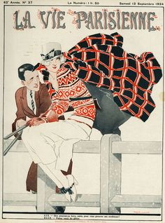 """""""La Vie Parisienne, 1924"""" Picture by Advertising Archives buy now as poster, art print and greeting card.."""