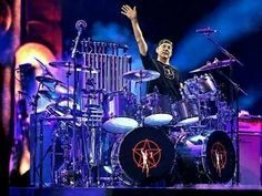 scott rockenfield and that sick ass drum kit seattles greatest in 2019 drums drum kits. Black Bedroom Furniture Sets. Home Design Ideas