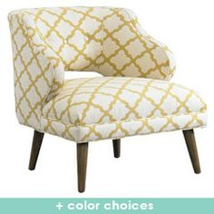 DwellStudio Mallory Chair and other furniture & decor products. Browse and shop related looks. Small Furniture, Home Decor Furniture, Furniture Makeover, Modern Furniture, Take A Seat, Home Renovation, Modern Decor, Upholstery, Interior Design