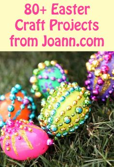 80+ #DIY Easter Craft Projects and Ideas from Joann.com