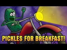 Once and a while, I have something weird for breakfast. This time it was pickles. I was in a hurry, and the pickles were there. Seriously, I talk about a lot of different stuff this time, so you just have to watch.    My channel: https://www.youtube.com/user/stevev4915?feature=mhee    Facebook: http://www.facebook.com/#!/steve.voudrie.1    Twitt...