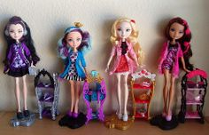 Getting Fairest was a line of four Ever After High dolls in their sleepwear, including Raven Queen, Madeline Hatter, Apple White and Briar Beauty. The line was released in early December, 2013. Each doll comes with a nightstand, two extra headpieces and a hand mirror.