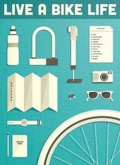 Live a Bike Life / Pedal Craft by Simply Adammann