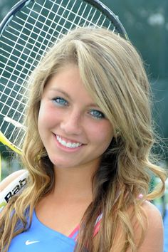 tennis senior picture ideas girls | Kenston High School ~ Girls Tennis 2010 Senior Night