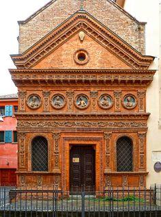 The church of Spirito Santo in Bologna, Italy