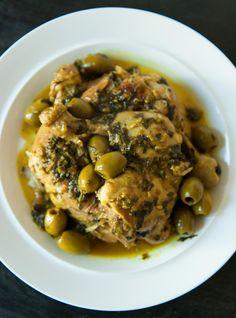 Poulet aux olives de Danièle Henkel Recettes | Ricardo