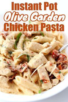 Instant Pot Pasta Recipe, Best Instant Pot Recipe, Instant Recipes, Instant Pot Dinner Recipes, Chicken Pasta Crockpot, Chicken Recipes, Recipe Chicken, Chicken Soup, Healthy Chicken