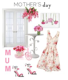 """If I had one..."" by kayearnold on Polyvore featuring Liz Claiborne, Oliver Gal Artist Co., Chi Chi and MothersDayBrunch"