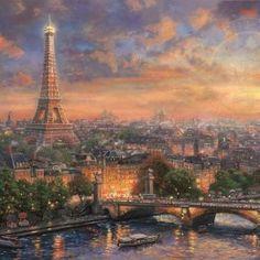 Paris, City of Love - Thomas Kincade
