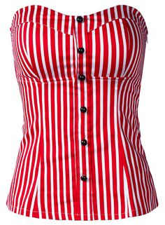 To find out about the Red White Vertical Stripe Strapless Bandeau at SHEIN, part of our latest Tank Tops & Camis ready to shop online today! Red And White Shirt, Red And White Stripes, White Corset Top, Bettie Page Clothing, Beautiful Outfits, Cool Outfits, Rockabilly Outfits, Stylish, My Style