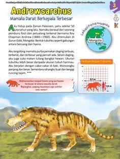 Buku Pintar Ensiklopedia Dinosaurus dan Binatang Purba Katabaca.com Animal Facts, Jurassic World, Peta, Dinosaurs, Studying, Bedtime, Aquarium, Funny Quotes, Knowledge