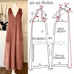 Dress Sewing Patterns, Clothing Patterns, Blouse Styles, Blouse Designs, Sewing Clothes, Diy Clothes, Costura Fashion, Fashion Sewing, Simple Dresses