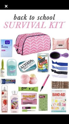 Survival kit for high school