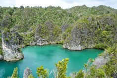 Gorgeous views of the bays, Raja Ampat - one of 4 things to see before you die #Indonesia