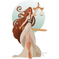 This looks like Themis, the Greek goddess of justice