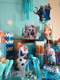 Disney Frozen Birthday Party Ideas | Photo 18 of 27 | Catch My Party