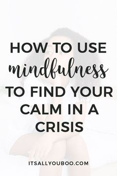 Are you living in crisis mode? Need a break from all the headlines? Click here for 9 mindfulness activities to stop living in crisis mode. You can take a break, even for just 5 minutes each day. Plus, get your FREE Printable Mindfulness Mantras. #Mindful #Mindfulness #MindfulLiving #MindfulDays #MindfulMondays #MentalHealth #MindfulnessPractices #MindfulnessTips #ItsAllYouBoo #MindfulnessMeditation #SelfHelp #MentalHealthTips #MentalWellbeing #Wellness #ChooseJoy #Peace #PersonalGrowth Mindfulness For Kids, Mindfulness Activities, Mindfulness Meditation, Guided Meditation, Anxiety Tips, Stress And Anxiety, Positive Mindset, Success Mindset, Growth Mindset