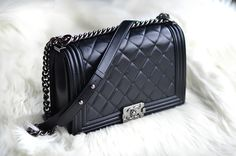 quilted leather #bag :: Boy by #Chanel