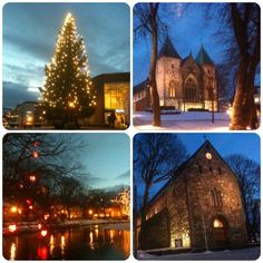 It looks so beautiful in Stavanger region when it's december! It's December, Tourist Sites, Visit Norway, Stavanger, Barcelona Cathedral, Wanderlust, Mansions, House Styles, Building